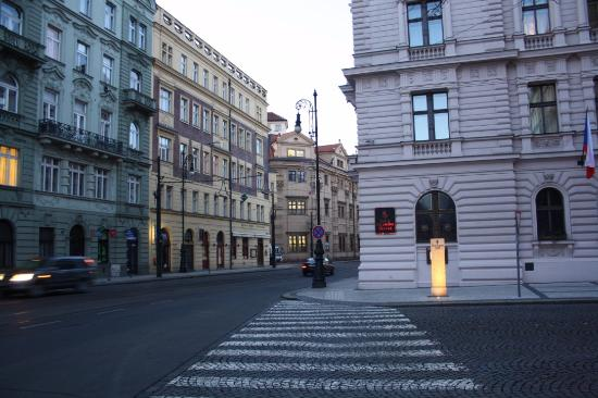 From the roof top terrace picture of four seasons hotel for Best hotel location in prague
