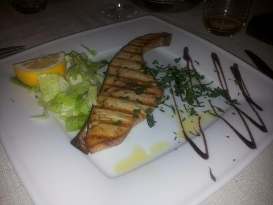 Ristorante Paradiso: Pesce spada ottimo