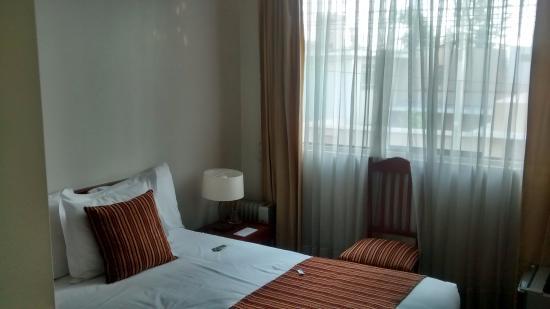 Hotel la Cuesta de Cayma: Atente para o detalhe: Não há escrivaninha