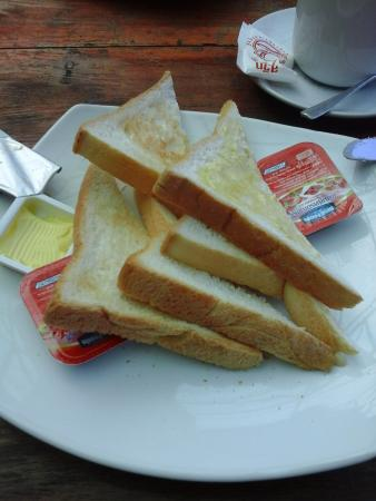 PP Ingphu Viewpoint: petit déjeuner minable...