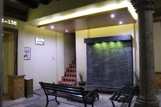 Hotel Hacienda del Sol : area de fumadores