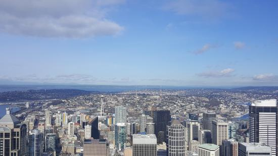 can you see the space needle picture of sky view observatory rh tripadvisor com