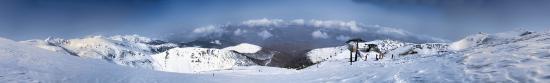 The ski resort of Brezovica in Kosovo.