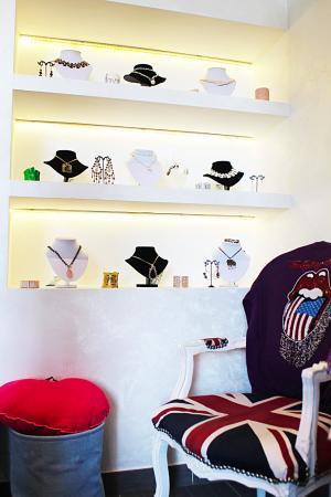 Fregene, Itália: Alcuni dei nostri originali accessori