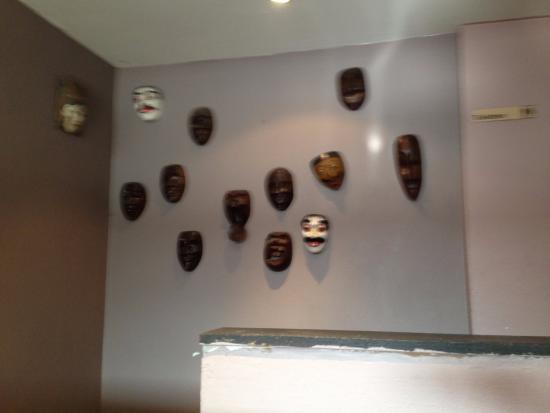 Wanddeko Im Restaurant - Picture Of Warung Bayu, Cologne - Tripadvisor