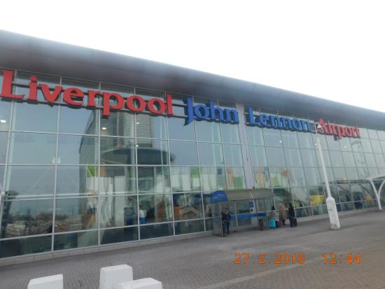 Liverpool John Lennon Airport Information Desk