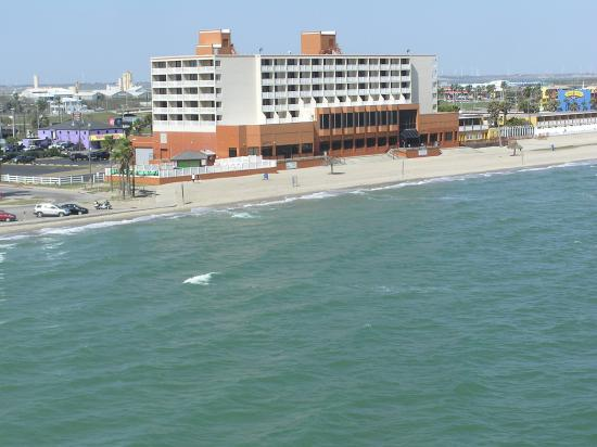 Radisson Hotel Corpus Christi Beach View From Carrier