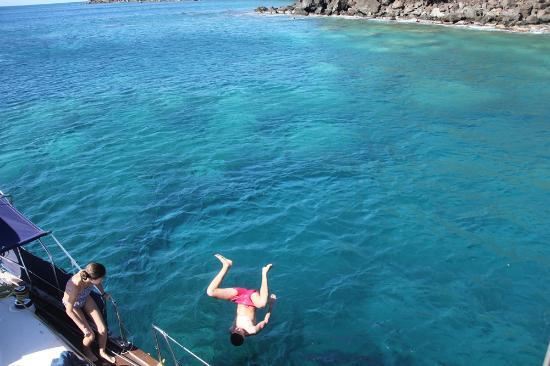 Les Balades de Keila : Keila balade bateau guadeloupe deshaies  2