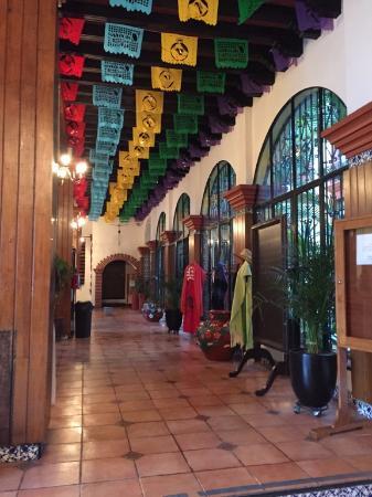Hotel Oaxaca Real: Recepción