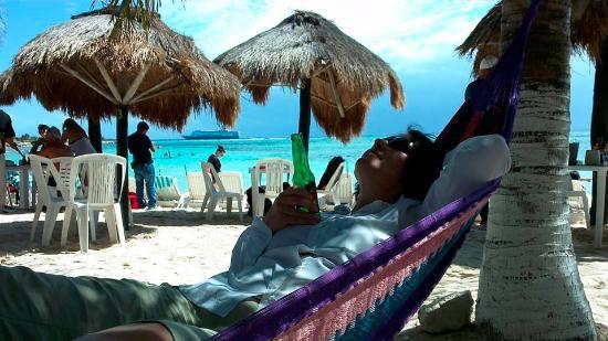 relaxing at the krazy lobster in mahahaul costa maya mexico rh tripadvisor com ph