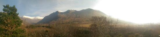 Leenane, Ireland: Spectacular view from our room