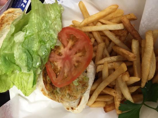 Junior's Crabs and Seafood: Fish Cake Special!