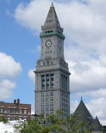 Custom House Stands Tall Over Boston Picture Of Marriott Vacation Club Pulse At Custom House Boston Tripadvisor
