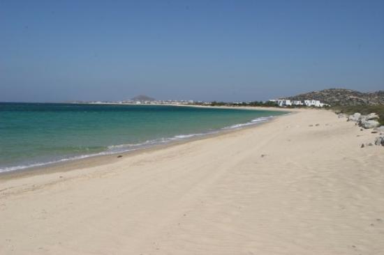 Plaka Beach Naxos