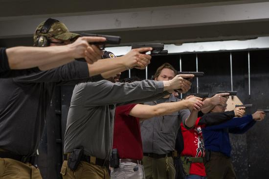 Shooting courses! - Picture of Osuva Range & Training