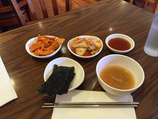 Korea House : appetizers