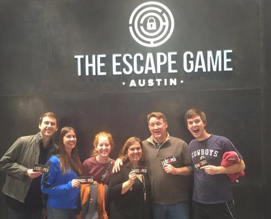 Caveman Escape With Son Game Walkthrough : We escaped picture of the escape game austin
