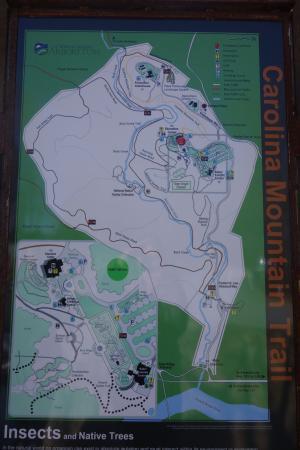 trail map picture of the north carolina arboretum asheville rh tripadvisor in