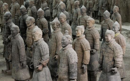 Xian Terracotta Warriors Picture Of Xian County Hebei