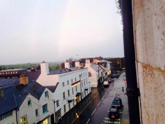 The Bulkeley Hotel: view from the room