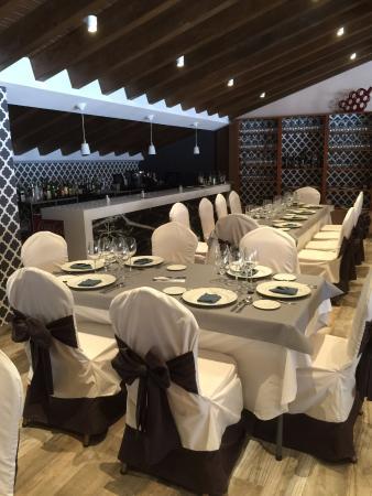 San Martin del Castanar, Spanien: Restaurante Versos