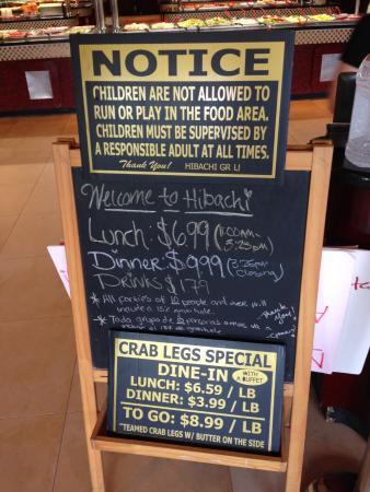 the prices picture of hibachi grill supreme buffet jonesboro rh tripadvisor com hibachi grill and supreme buffet prices sioux falls hibachi grill buffet prices bloomington il