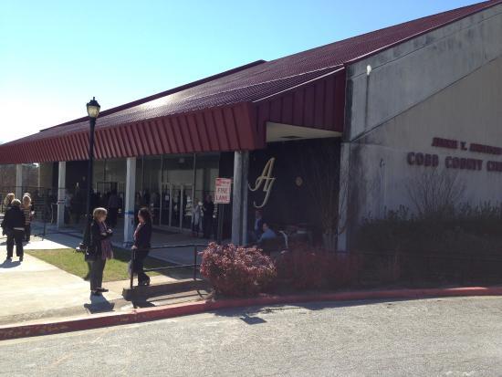 Marietta, GA: Theatre Entrance