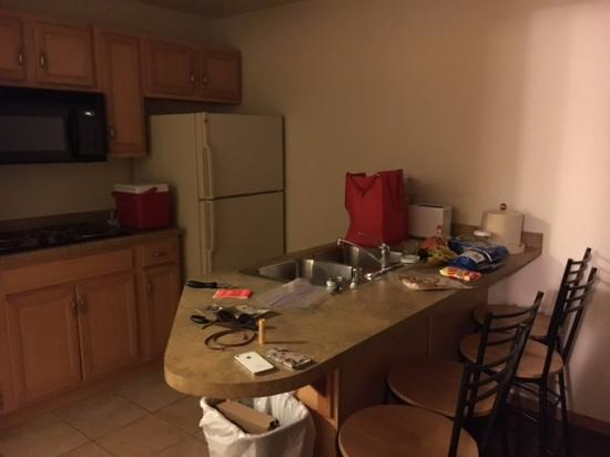 full kitchen with supplies picture of timber ridge lodge rh tripadvisor com