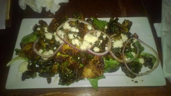Auburn, AL: Sprout salad. Tasted burnt.