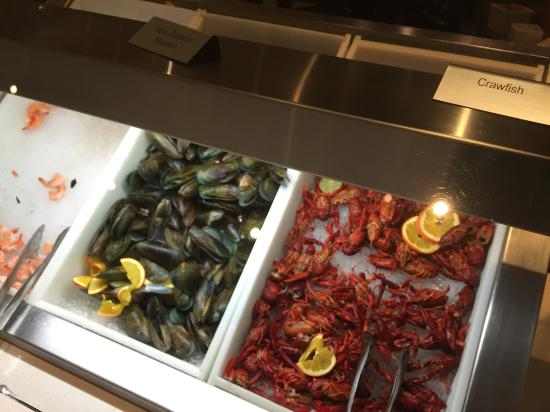 seafood picture of the buffet at aria las vegas tripadvisor rh tripadvisor com