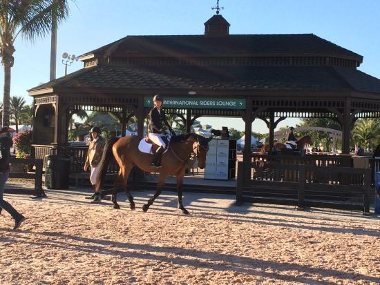The Palm Beach International Equestrian Center Outside Rolex Arena