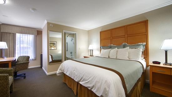 BEST WESTERN Silicon Valley Inn: Guest Room