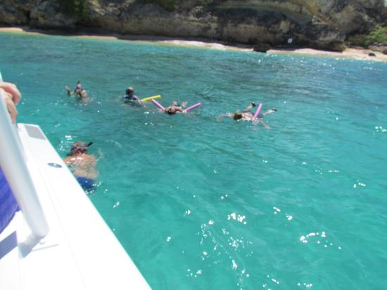 Oyster Pond, St. Maarten: Great snorkling