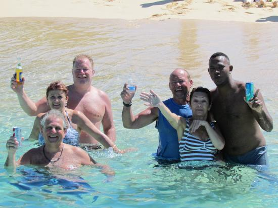 Oyster Pond, St. Maarten-St. Martin: WE are smiling as it was a wonderful trip