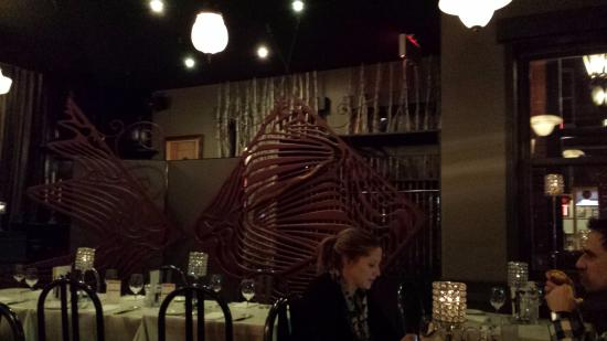 Restaurant l'imprevu: Lovely decor