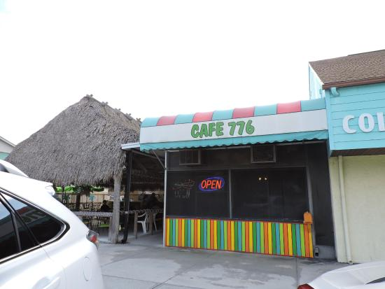 cafe 776: outside of the restaurant