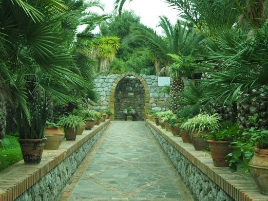 Villa Caterina: Part of the beautiful garden area