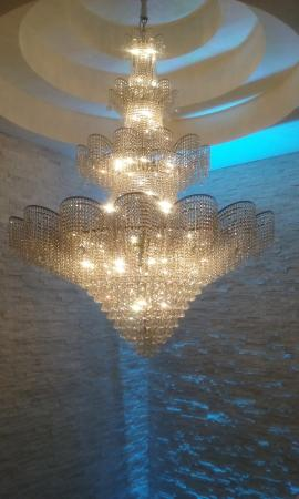 The Wilshire Grand Hotel: Light Fixture at Wilshire Grand