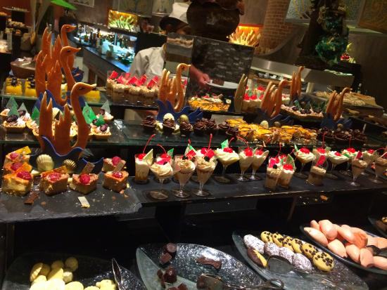 Desserts Buffet Picture Of Iberostar Grand Hotel