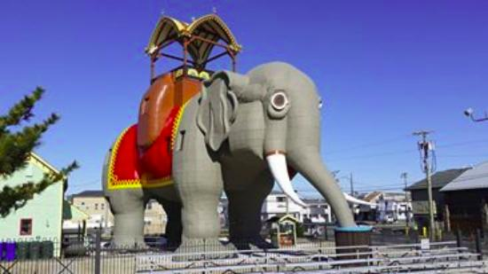 Pier 4 Hotel: Lucy the Elephant