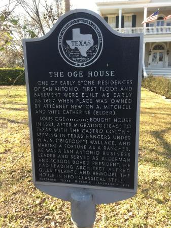 Noble Inns - The Oge House, Inn on the Riverwalk: Historical Information on Oge House