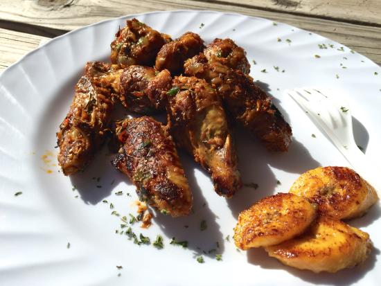 Ginger Chicken Wings With Plantains Picture Of Discovery