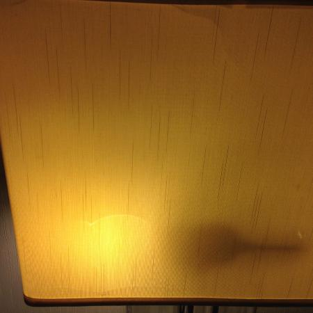 2nd room: Middle nightstand light shade.