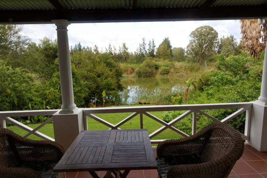Umlambo B&B and River Camp: View from cottage