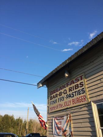 Germfask, MI: Outside of Jolly's