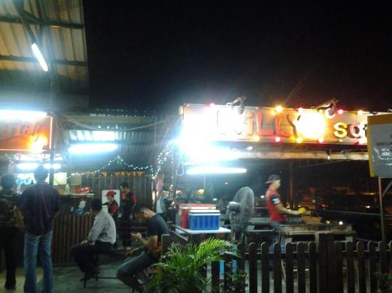 satay willy at ramal food junction satay willy