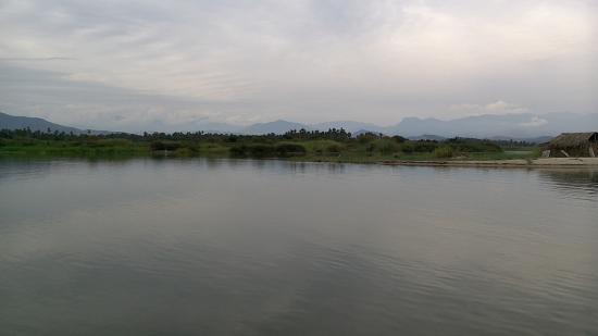 Pie de la Cuesta, Mexico: Lagoon area