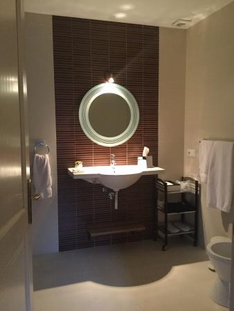 Hotel L'Avenida: Bad in der Junior Suite 2. Etage