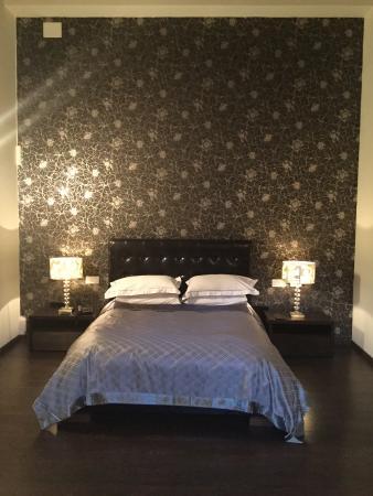 Hotel L'Avenida: Schlafbereich Junior Suite 2. Etage