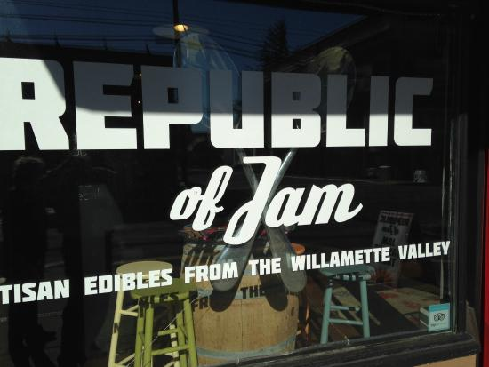 Republic of Jam: The sign to look for...